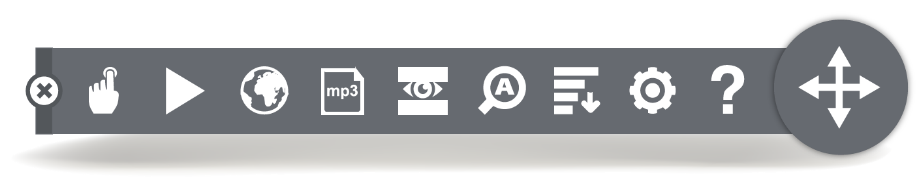 Browsealoud toolbar