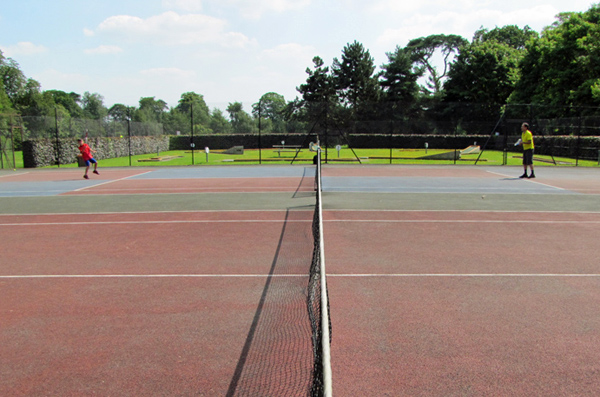 Bury Knowle Park tennis courts