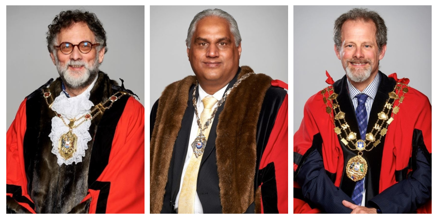 Lord Mayor of Oxford - Councillor Craig Simmons, Deputy Lord Mayor of Oxford - Councillor Mohammed Altaf Khan, Sheriff of Oxford - Councillor Steve Goddard