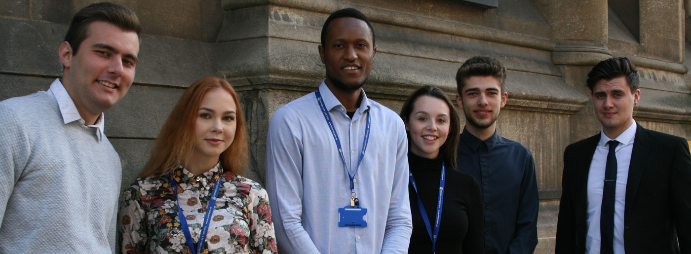 Group of Oxford City Council apprentices