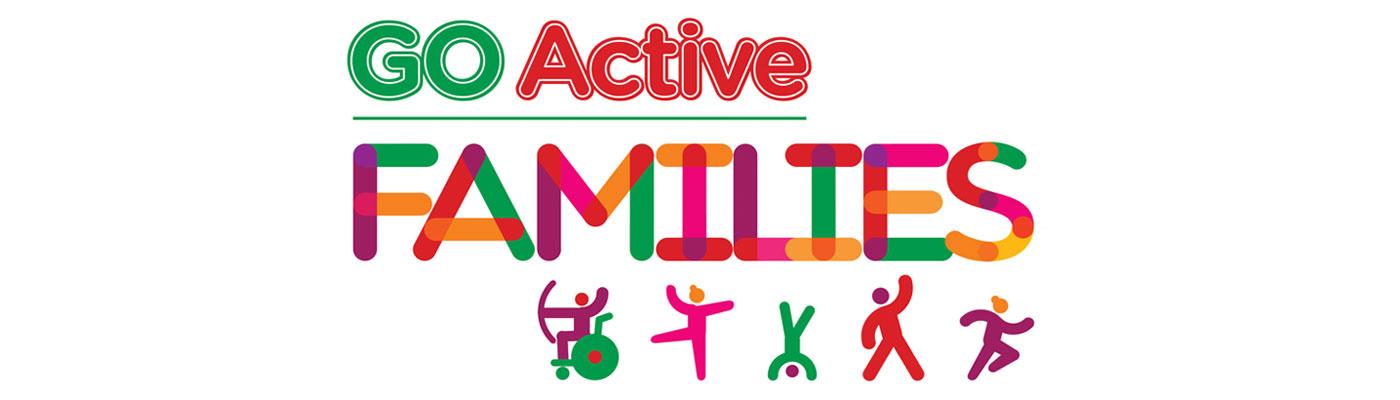 Carousel banner GO Active Families logo
