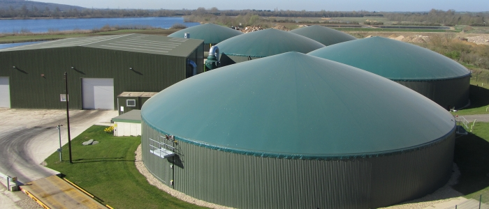 Cassington Food Recycling Plant