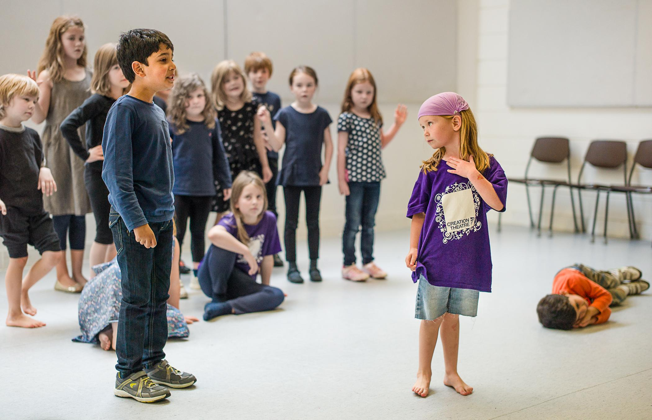Creation Theatre for kids