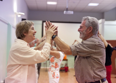 Dance for Parkinson's class