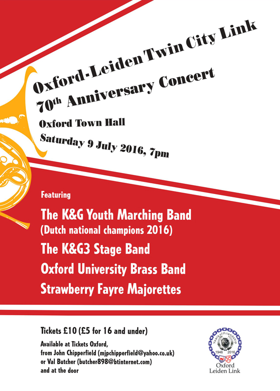 Oxford Leiden Events Poster - June 2016