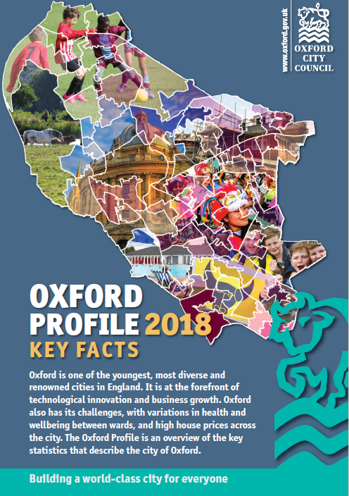 Cover of the 2018 Oxford Profile