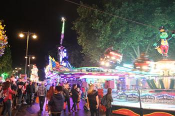 St Giles' Fair rides