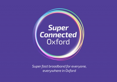 Super Connected Oxford Logo