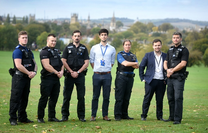 Picture of Oxford Public Spaces Drugs Taskforce in South Park