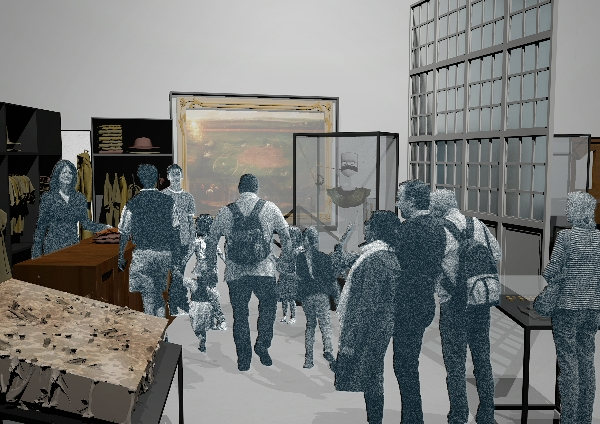 Another view of the second gallery visitors will encounter at the new museum