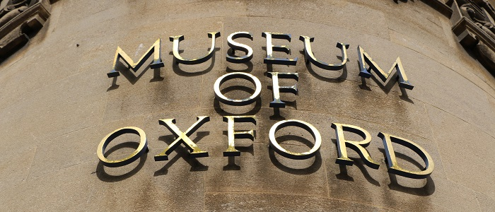 Museum of Oxford sign