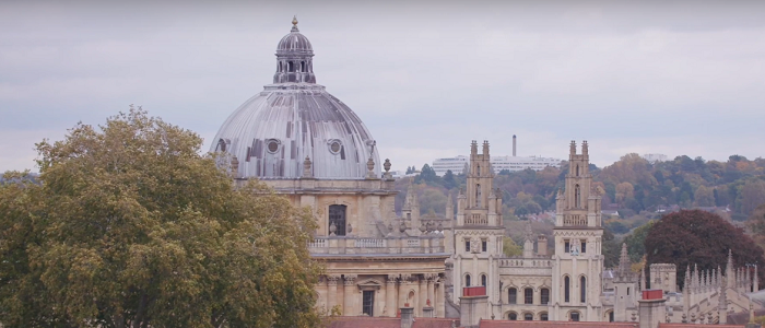 oxford skyline with radcliffe camera