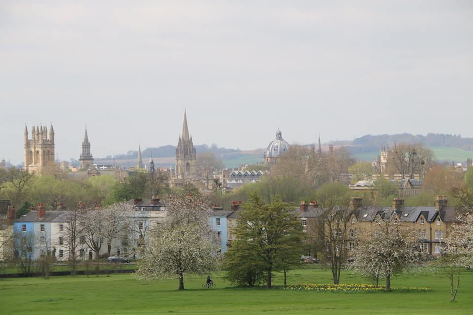 Picture of Oxford from South Park