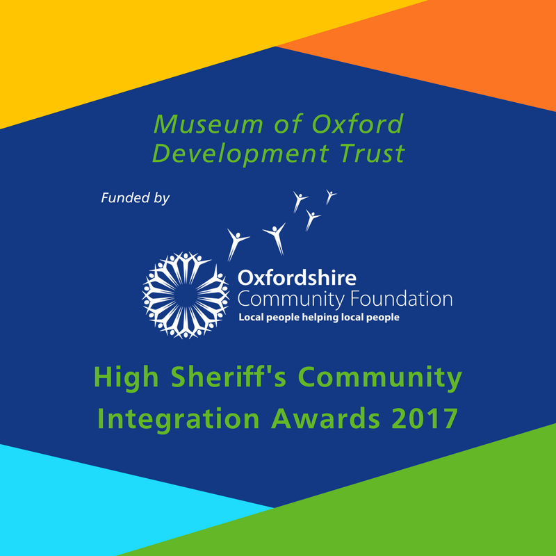 The award logo from the High Sheriff's community integration awards