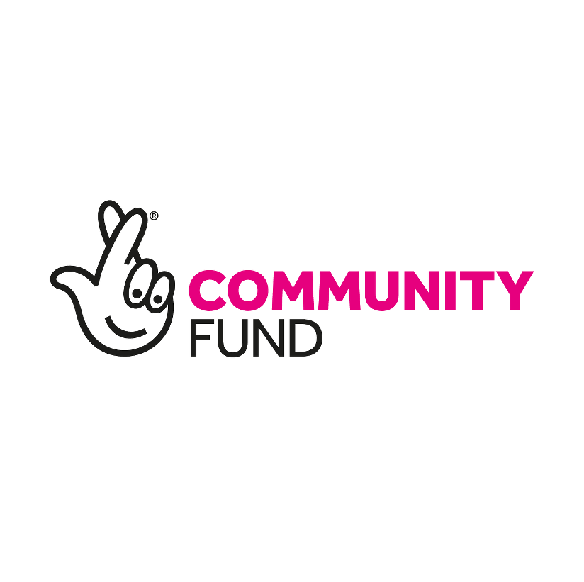 The Community fund logo from the National Lottery